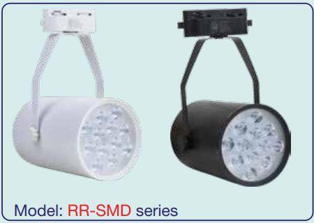 Đèn led Rọi ray 3w SMD 03 có hai màu trắng và đen