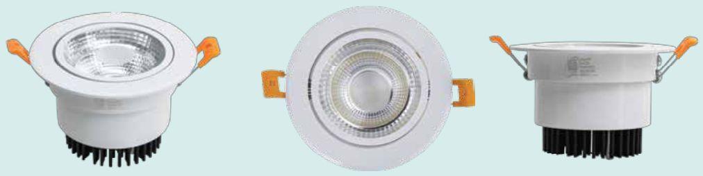 Đèn led âm trần chiếu điểm COB 7w