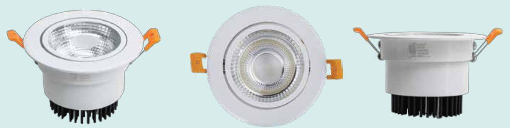 Đèn led âm trần chiều điếm COB công suất 3W