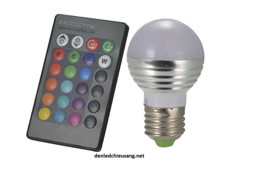 Đèn led đổi màu có điều khiển từ xa