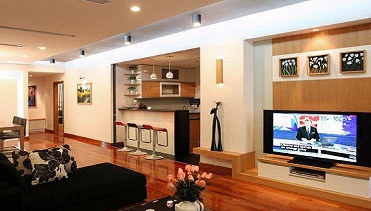 Đèn led ống bơ ốp nổi 7w vỏ đen chiếu sáng và trang trí phòng khách