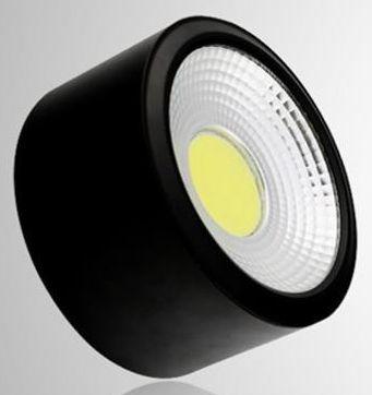 Đèn led ống bơ COB vỏ đenĐèn led ống bơ COB vỏ đen