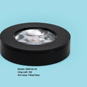 Đèn led ốp nổi mini 3W vỏ đen