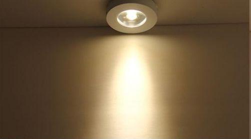 Đèn led ốp trần 7w vỏ vàng tròn phù hợp trang trí không gian nội thất gia đình