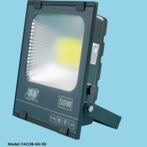 Đèn LED pha 50w vỏ ghi