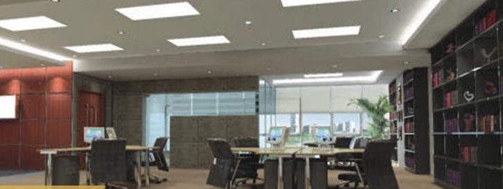 Đèn Panel tấm chữ nhật sử dụng chiếu sáng và trang trí văn phòng