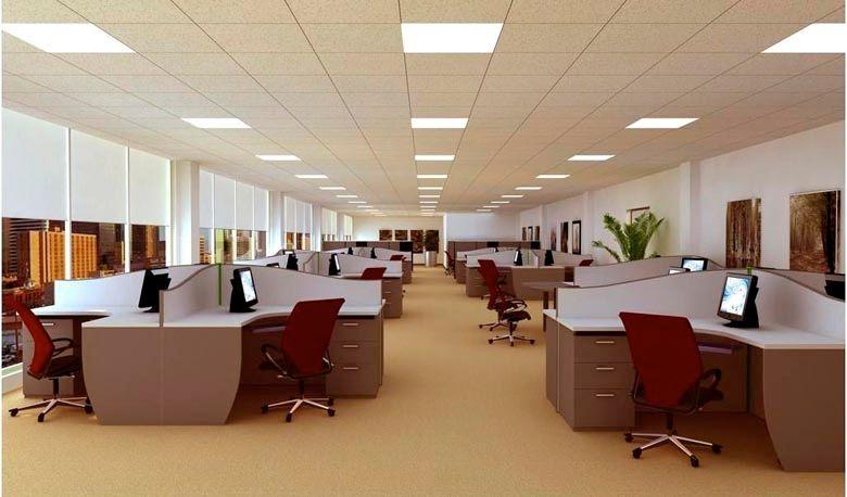 Đèn LEd Panel tấm là lựa chọn hoàn hảo cho việc chiếu sáng và trang trí không gian văn phòng