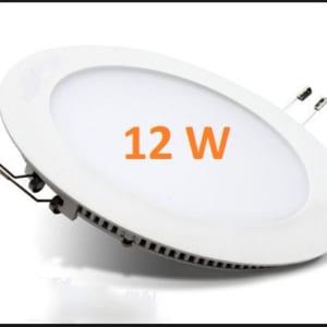 Đèn led âm trần tròn siêu mỏng 12w Minh Đức