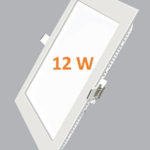 Đèn led âm trần vuông 12w siêu mỏng
