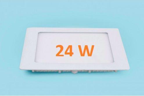 Đèn led âm trần vuông 24w