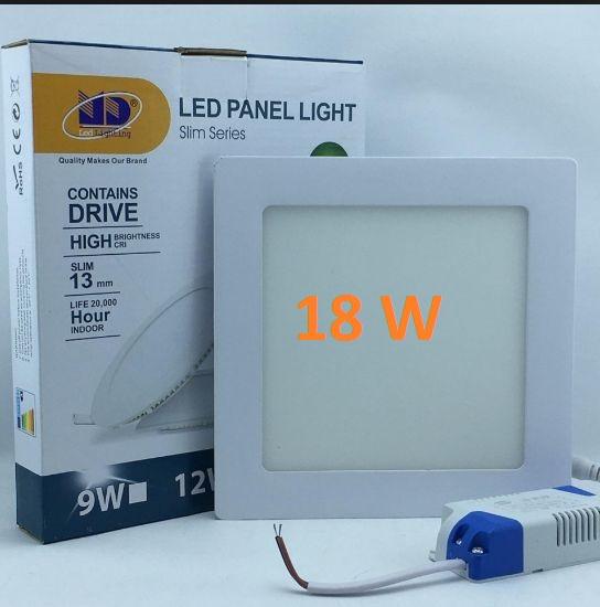 Đèn LED âm trần vuông siêu mỏng 18W Minh Đức
