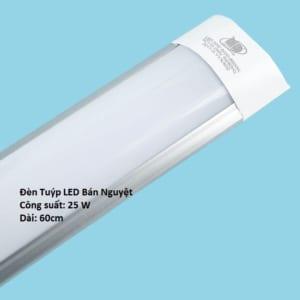 Đèn Tuýp LED Bán nguyệt 25w 60cm