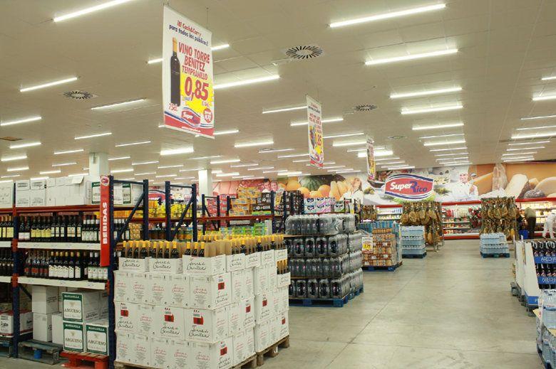 Đèn Tuýp LED T8 dùng chiếu sáng và trang trí siêu thị