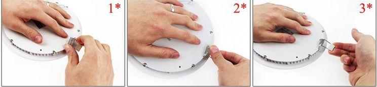 Hướng dẫn lắp đặt đèn led âm trần tròn (1)
