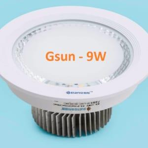 Đèn led âm trần Gsun 9w