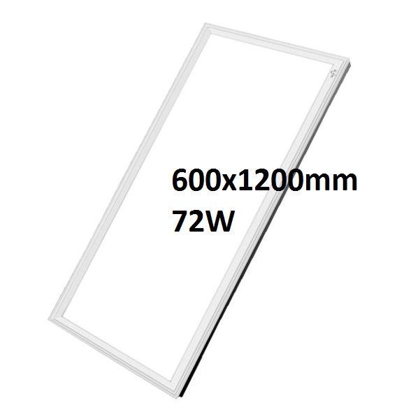 Đèn led panel 600x1200mm, 72w, tấm chữ nhật